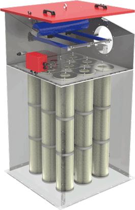 Filtre pour silos INFA-JETRON AJP